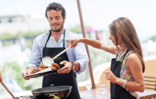 Santorini Wine tour presentation photos